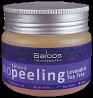 Obrázek Saloos Bio tělový peeling Levandule-Tea tree 140 ml