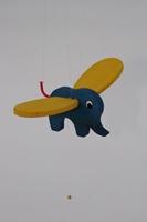 Obrázek Slon modrý létací