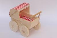 Obrázek Dřevěný Kočárek pro panenky