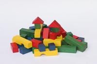 Obrázek Dřevěné kostky 54 ks