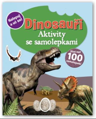 Obrázek z Dinosauři – aktivity se samolepkami