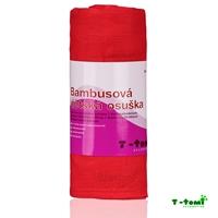 Obrázek Bambusová osuška, růžová