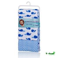 Obrázek Látkové osušky, modrý oceán