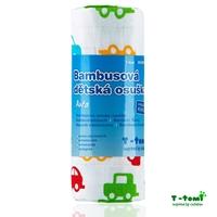 Obrázek Bambusová osuška, auta