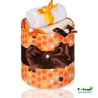 Obrázek Plenkový dort ECO - LUX, malé oranžové tlapky
