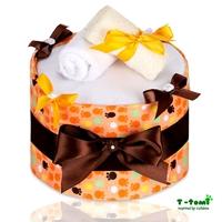 Obrázek Plenkový dort ECO - LUX, velké oranžové tlapky