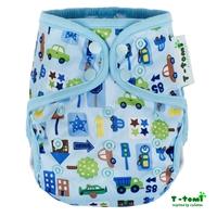 Obrázek Svrchní kalhotky, modrá auta