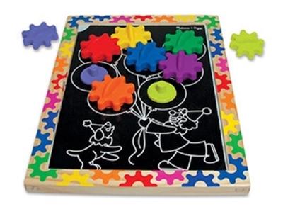 Obrázek z Melissa & Doug Magnetická tabule s ozubenými koly