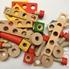 Obrázek z Dřevěná šroubovací stavebnice 45 ks