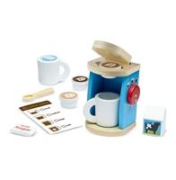 Obrázek Melissa & Doug Luxusní dřevěný kávový set