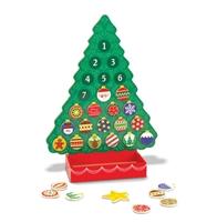 Obrázek Dřevěný adventní kalendář Melissa & Doug