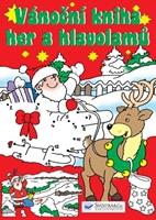 Obrázek Vánoční kniha her a hlavolamů