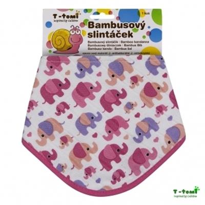 Obrázek z Bambusový slintáček -růžoví sloni