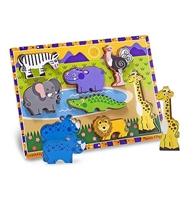 Obrázek Melissa & Doug Dřevěné puzzle zvířátka v safari