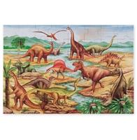Obrázek Melissa & Doug Podlahové puzzle Země Dinosaurů