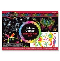 Obrázek Melissa & Doug Škrábací sada obrázků Scratch Art Deluxe set