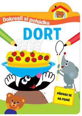 Obrázek z Dokresli si pohádku - Dort