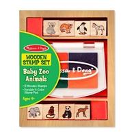 Obrázek Melissa & Doug Sada razítek zvířátka ZOO