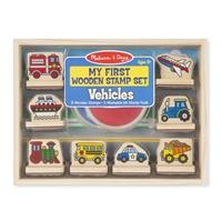 Obrázek Razítka pro nejmenší Dopravní prostředky Melissa & Doug