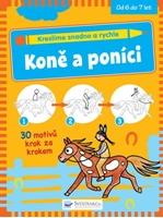 Obrázek Kreslíme snadno a rychle – Koně a poníci