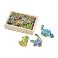 Obrázek Melissa & Doug - Dřevěné magnety Dino