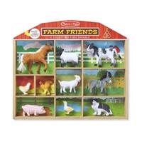 Obrázek Melissa & Doug - Sběratelská zvířata z farmy - 10 figurek
