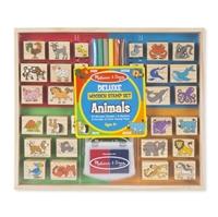 Obrázek Dřevěná razítka DELUXE - Zvířata